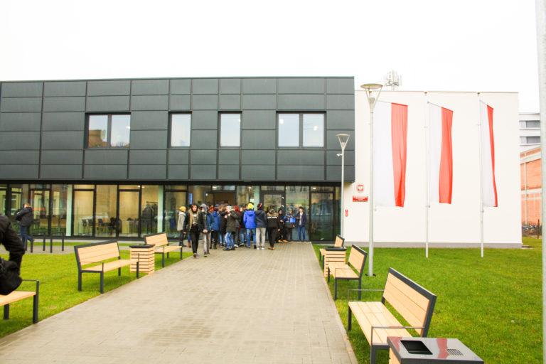 Budynek Centrum Kształcenia Zawodowego i Ustawicznego w Gnieźnie
