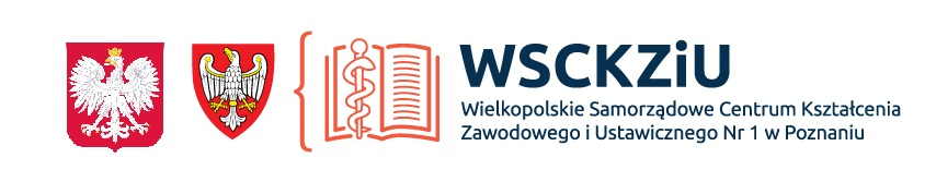Logo Wielkopolskiego Samorządowego Centrum Kształcenia Zawodowego i Ustawicznego nr 1 w Poznaniu