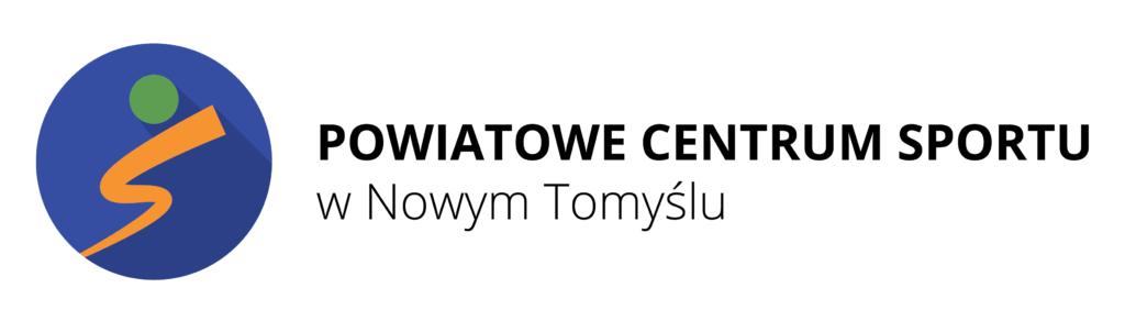 Logo Powiatowego Centrum Sportu w Nowym Tomyślu