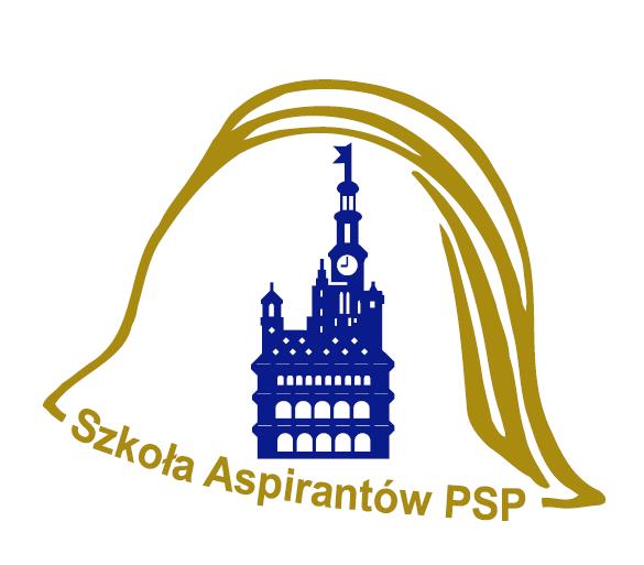 Logo Szkoły Aspirantów Państwowej Straży Pożarnej w Poznaniu
