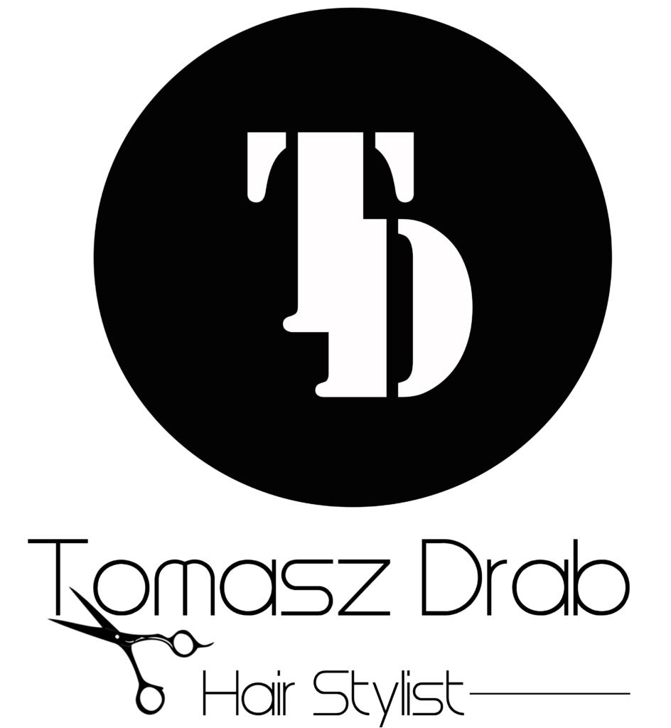 Logo fryzjera Tomasz Drab