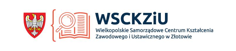 Logo Wielkopolskiego Samorządowego Centrum Kształcenia Zawodowego i Ustawicznego w Złotowie