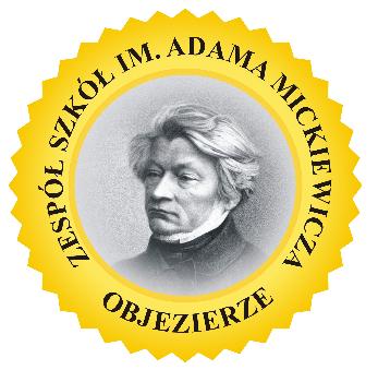 Logo Zespołu Szkół im. Adama Mickiewicza w Objezierzu