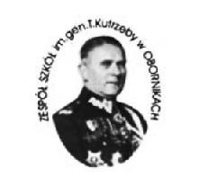 Logo Zespołu Szkół im. gen. Tadeusza Kutrzeby w Obornikach