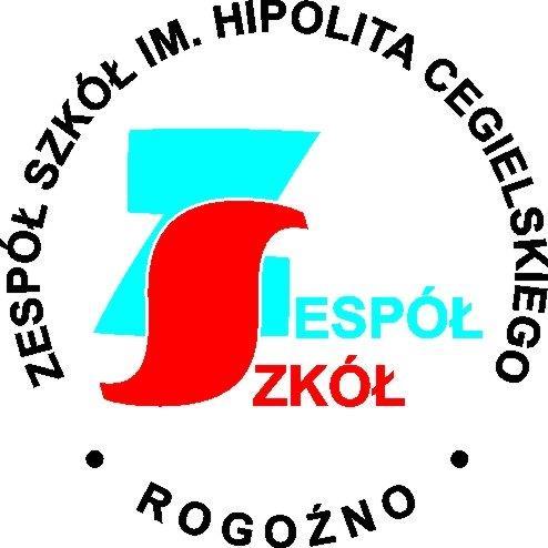 Logo Zespołu Szkół w Rogoźnie