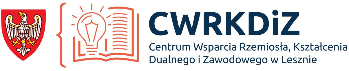 Logo Centrum Wsparcia Rzemiosła, Kształcenia Dualnego i Zawodowego w Lesznie