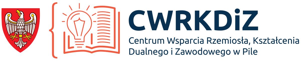 Logo Centrum Wsparcia Rzemiosła, Kształcenia Dualnego i Zawodowego w Pile