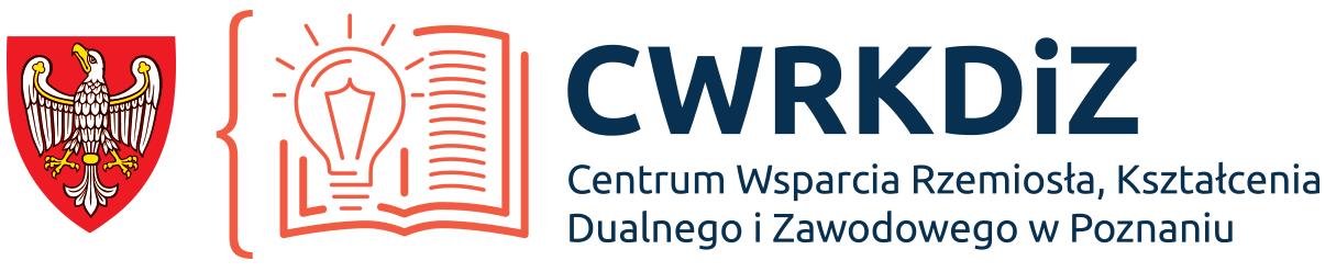 Logo Centrum Wsparcia Rzemiosła, Kształcenia Dualnego i Zawodowego w Poznaniu