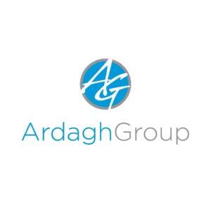 Logo Ardagh Group producenta opakowań szklanych i metalowyc