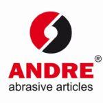 Logo firmy Andre Abrasive Articles w Kole