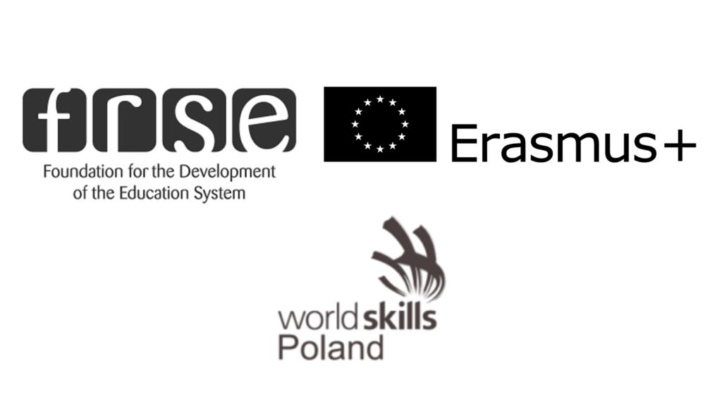 Logo Erasmus frse worldskills Poland
